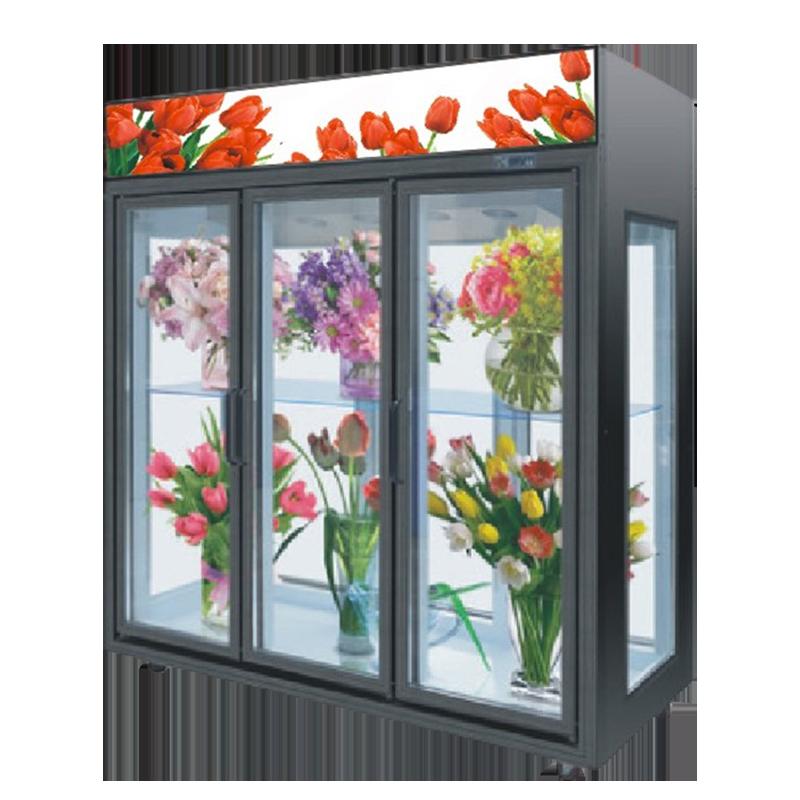鲜花冷藏保鲜展示柜冷柜定制
