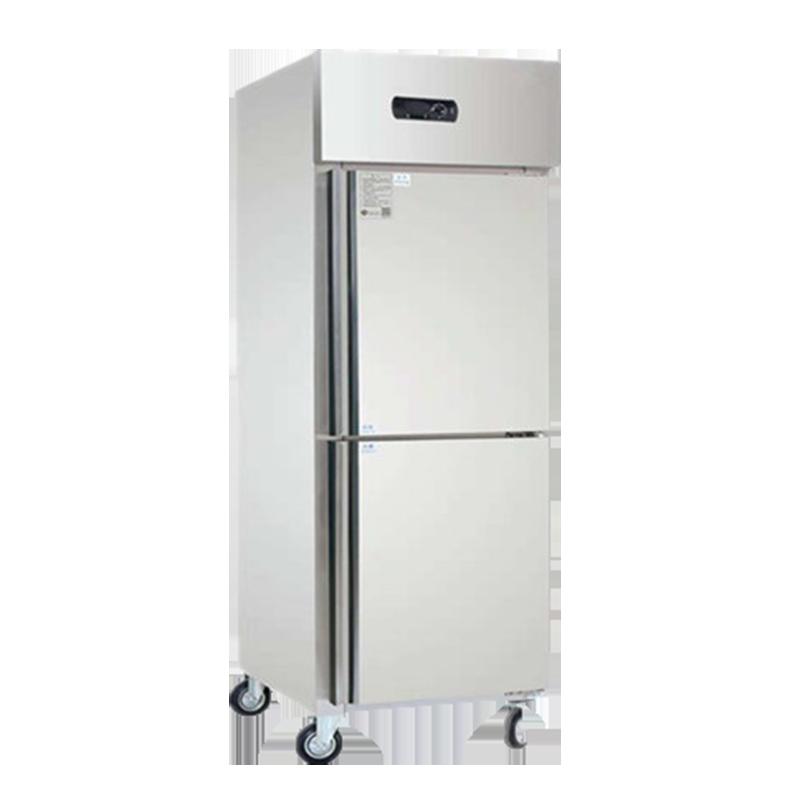 雙門不銹鋼冷柜廚房冰柜展示冷柜